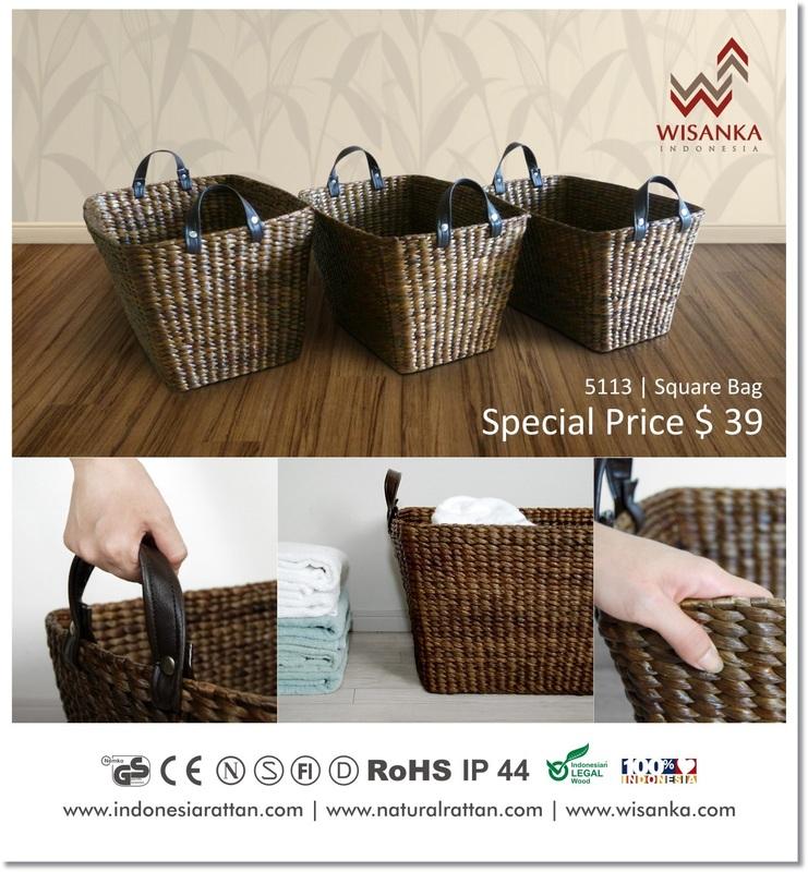 Promo Rattan Wicker Bag