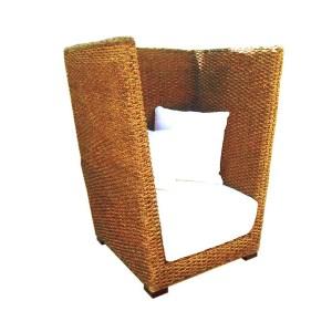 Patrick Wicker Arm Chair