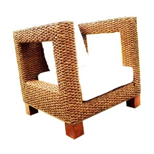 Morales Wicker Arm Chair