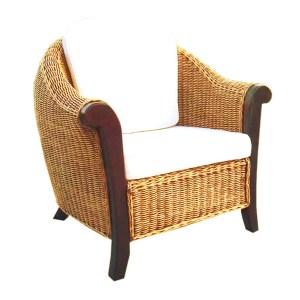 Magdalena Rattan Arm Chair