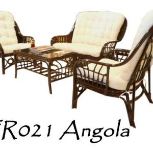 Angola Rattan Living Set
