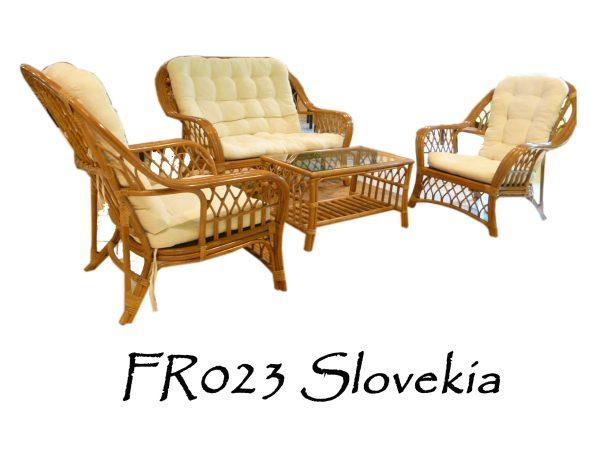 Slovekia Rattan Living Set