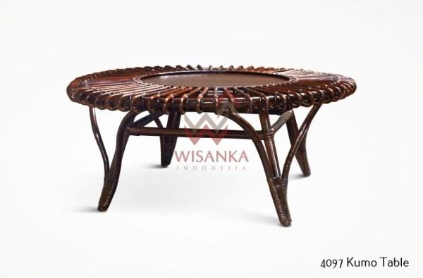 Kumo Rattan Table