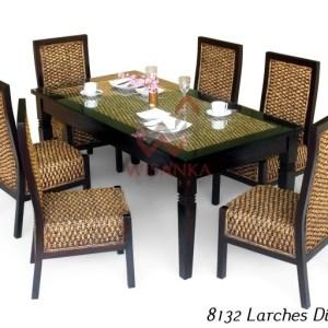 Larches Wicker Dinning Set