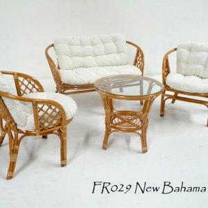 New Bahama Rattan Living Set