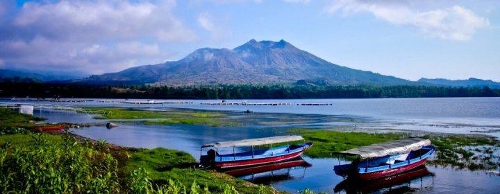 Mount & Lake Batur