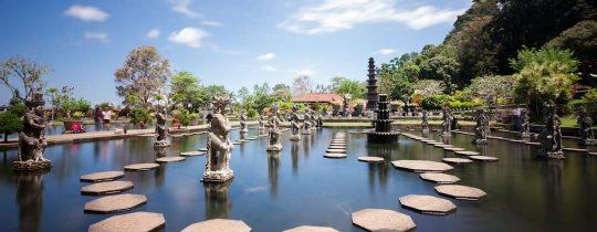 Waterpaleis Tirta Gangga (Tirtagangga) - Bali, Indonesië