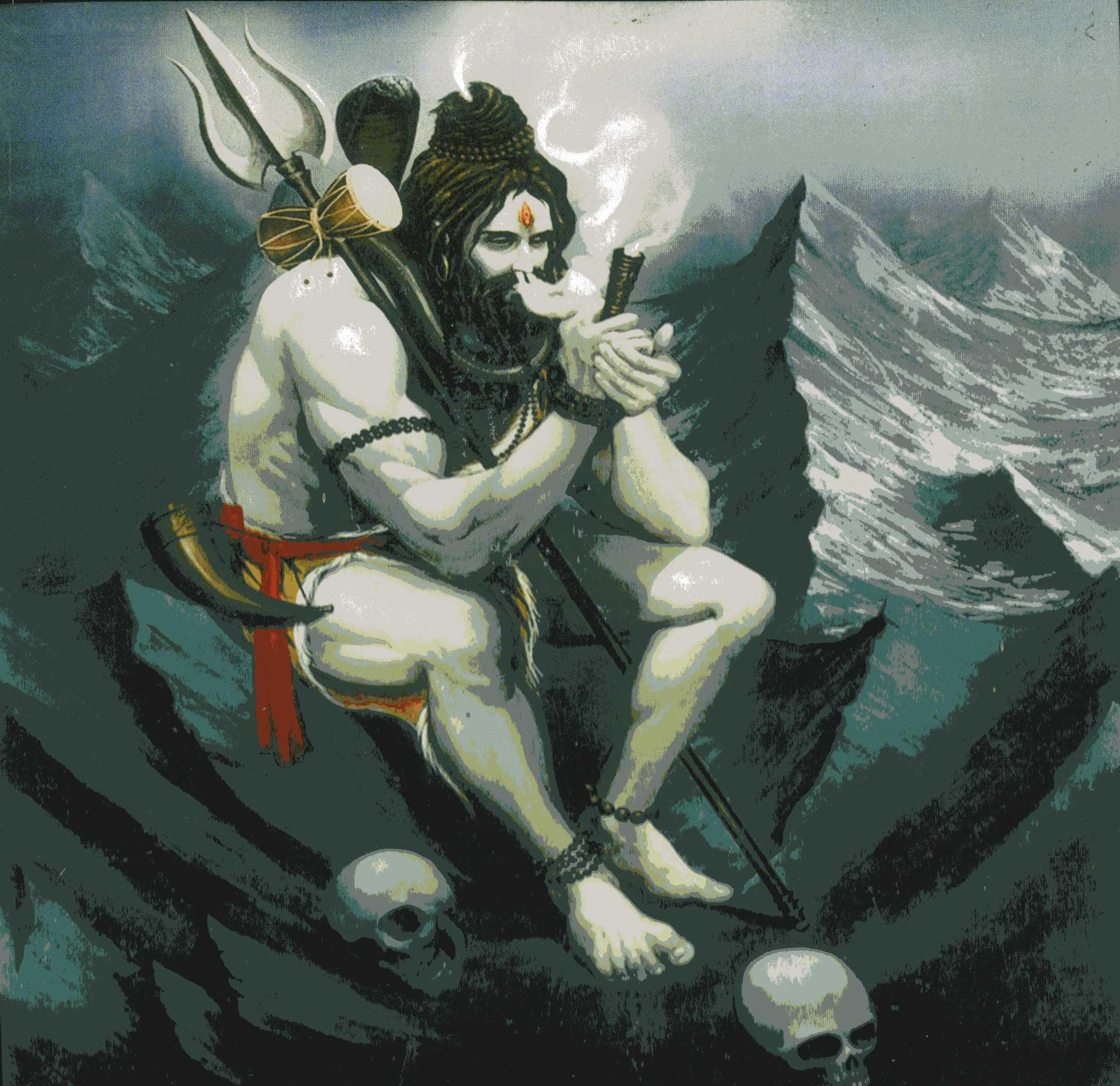インドが好きな方、神話が好きな方、そしてヨガをされている方に特に知って頂きたいシヴァさん(Lord Shiva)。
