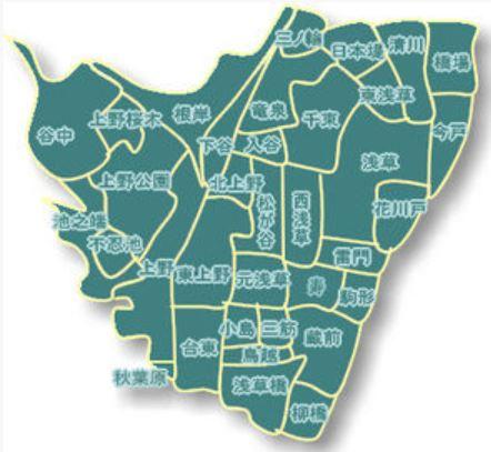 台東区Map