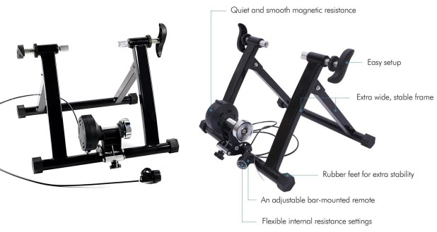 Ohuhu Magnet Steel Bike Indoor Exercise Trainer Stand