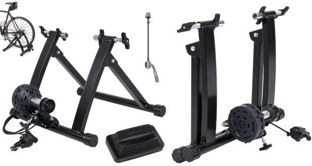 ALPINE© Magnet Steel Bike Indoor Exercise Trainer Stand