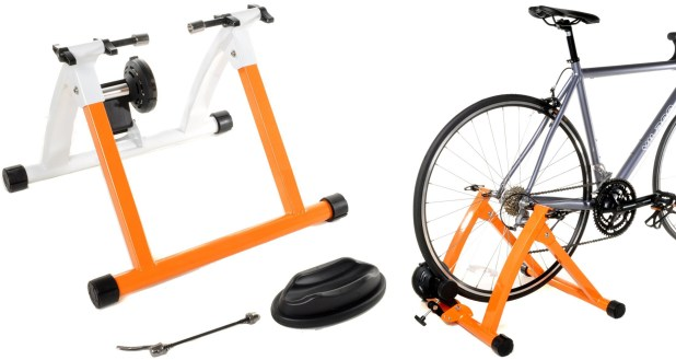 Conquer Indoor Bike Trainer Portable Magnetic Stand