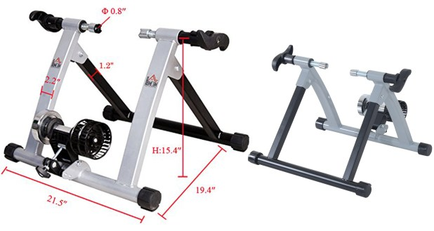 Soozier Kinetic Resistance Indoor Exercise Bike Trainer Stand