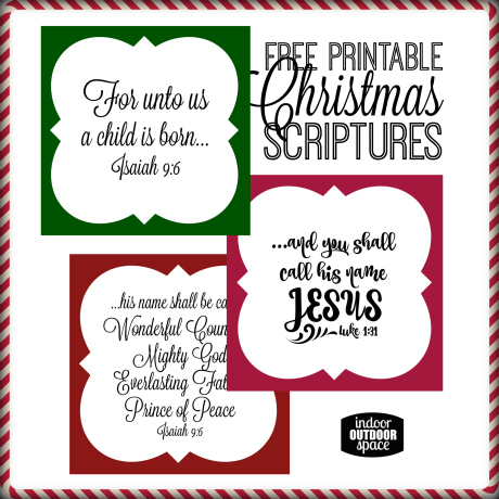 graphic relating to Printable Scriptures known as Totally free Xmas Scripture Verse Printable for Present Tags