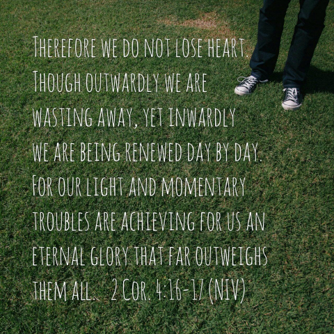 Wasting Away Devotional