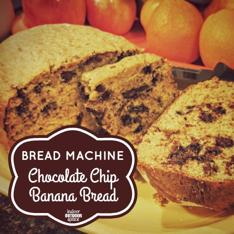 Bread Machine Chocolate Chip Banana Loaf Recipe for Oster Expressbake at Indoor Outdoor Space