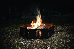 portable campire ring, portable camping fire pit