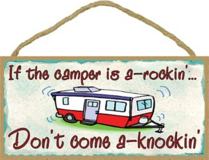 fun, funny, camper sign, plaque, camping, wall sign, door sign, camper decor, rv living