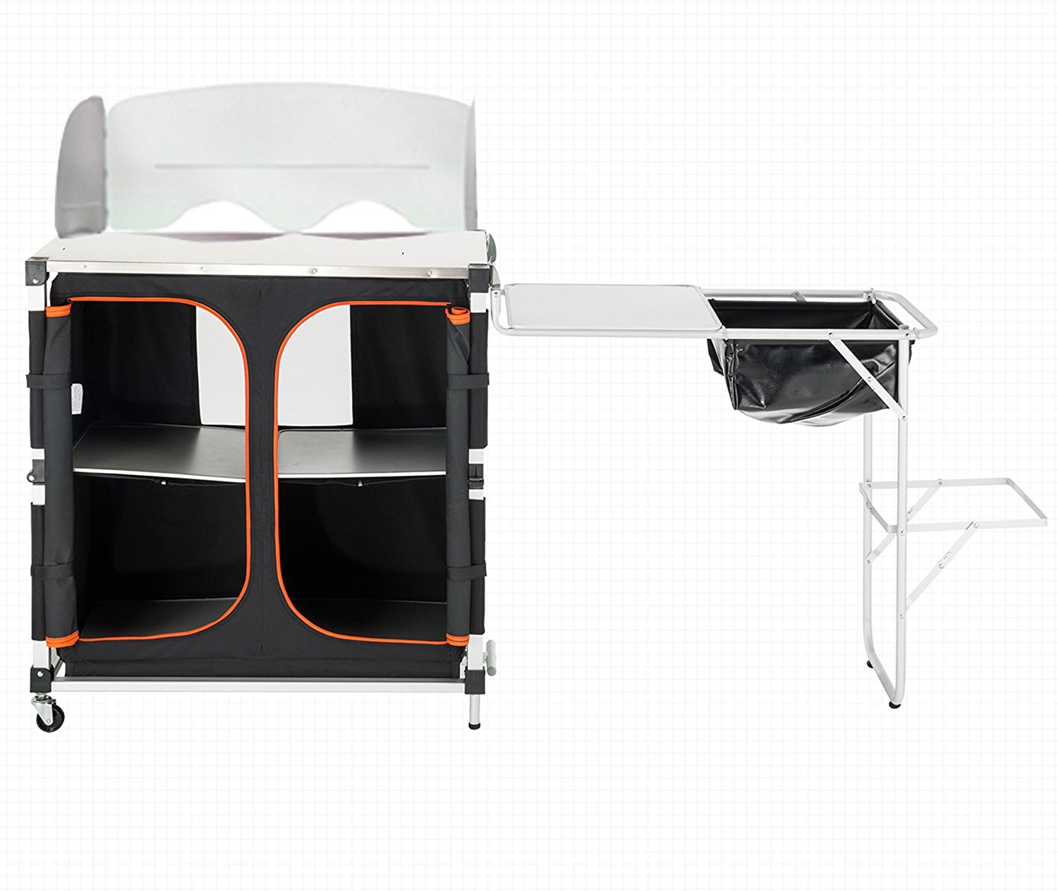 KingCamp Quick-up Wheeled Multifunctional Camping Kitchen ...