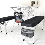 Oasis RAPTOR II Deluxe Compact Table & Bench Set