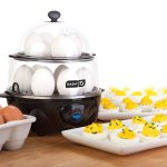 Omelette Maker, Egg Cooker, & Veggie Steamer for RV Living & Camping