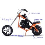 SAY YEAH Gas Scooter 49cc 2 Stroke Mini Dirt Pit Bike for Kids 2