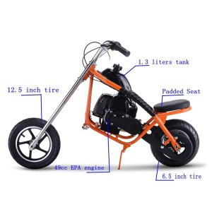 SAY YEAH Gas Scooter 49cc 2 Stroke Mini Dirt Pit Bike for Kids
