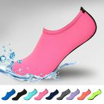 Womens, Kids, Mens Water Shoes Barefoot Quick-Dry Aqua Socks for Beach Swim Surf Yoga Exercise