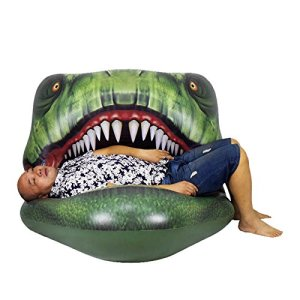 T-Rex Pool Float, Dinosaur Pool Toy, Several T-Rex Pool Floats, Jurassic World, Jurassic Park, Swim, Swimming, T-rex Pool Toy, Camping, Beach, Lake, Cabin