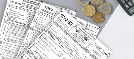Beda formulir pajak