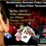Kenikmatan Bermain Poker Uang Asli Di Situs Poker Teraman