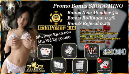 Agen Poker Online Sbodomino Teraman Saat Ini