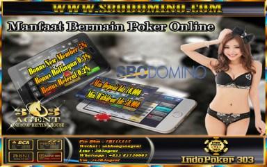 Beberapa Keuntungan Bermain Poker Online Di Sbodomino