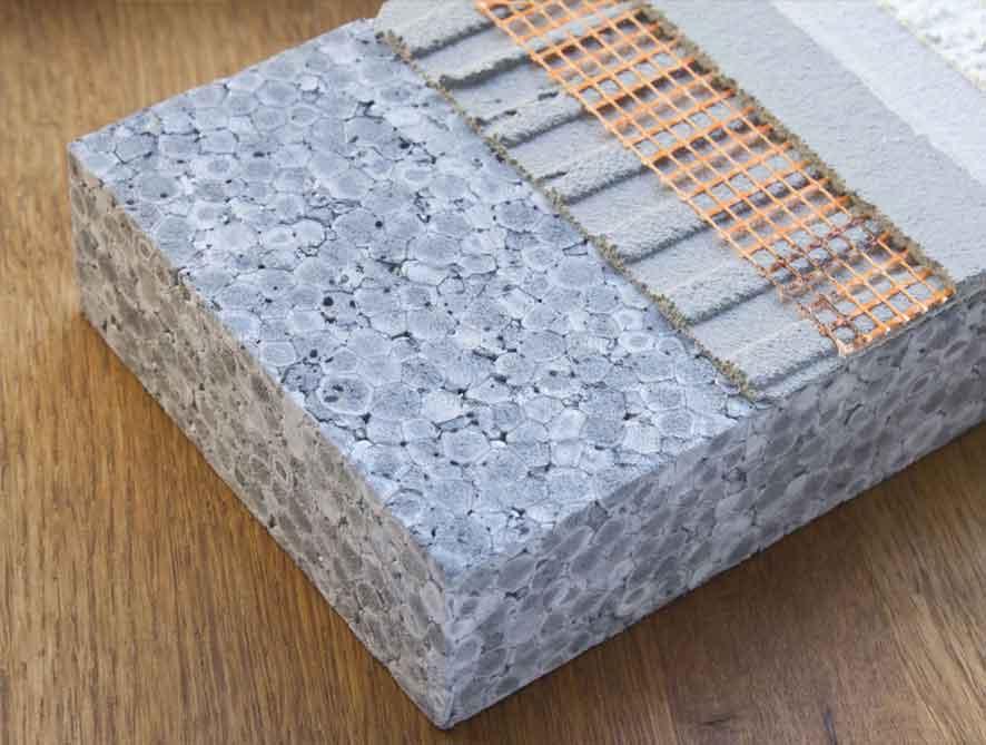Beton Styrofoam