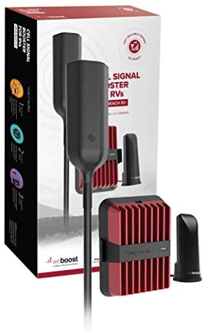 weBoost Drive Reach RV (470354) Cell Phone Signal Booster Kit, Made in The US, All Networks & Carriers - Verizon, AT&T, T-Mobile, Sprint & More, FCC Approved