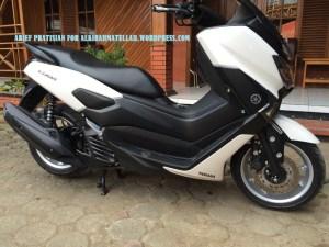 Yamaha NMax modifikasi scotlet,hitam legam deknya!!