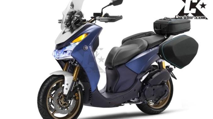 Konsep Modifikasi Yamaha Lexi 125 Touring Edition Kalau Begini Siap