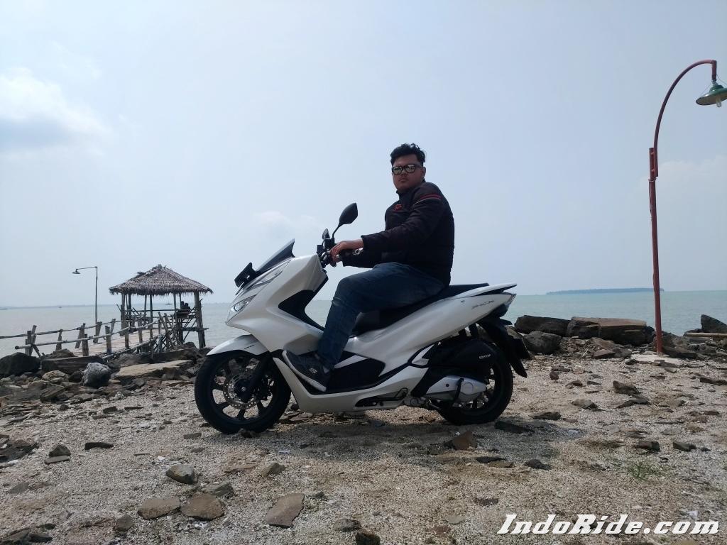 Modifikasi Honda PCX 150 Lokal Pakai Shockbreaker Yamaha XMax Jadi