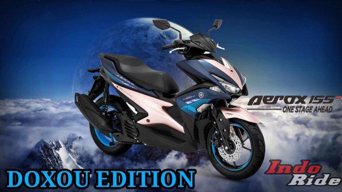 "Warna Baru Yamaha Aerox 2019 ""Doxou"" Version, Yang"