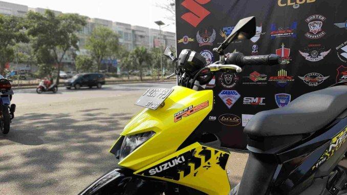 Modifikasi Suzuki Nex Ii Cross Pakai Stang Beat Street Gini Harusnya Indoride Com