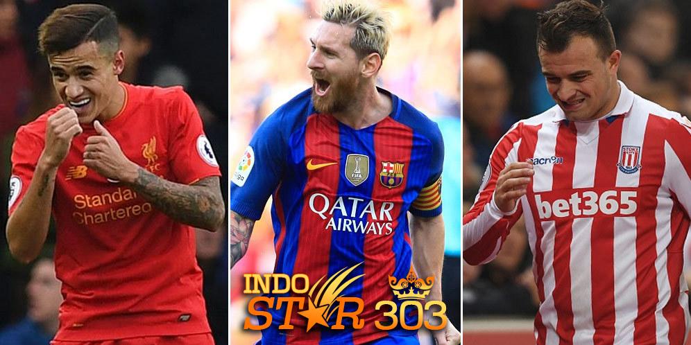Agen Judi Bola - Messi, Countinho, Shaqiri