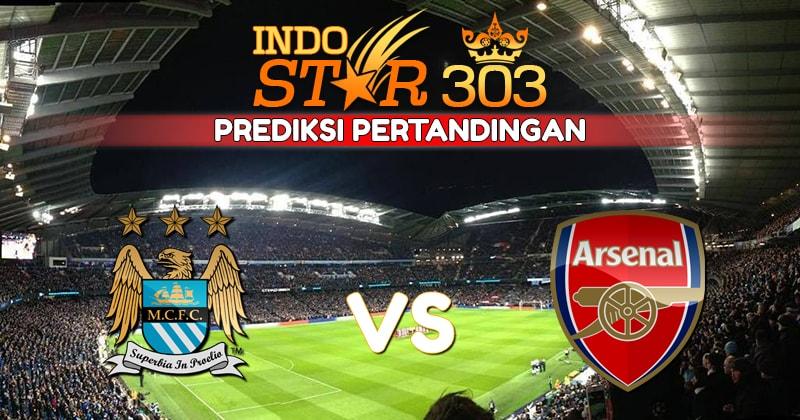 Agen Bola Terpercaya - Prediksi Pertandingan Manchester City vs Arsenal