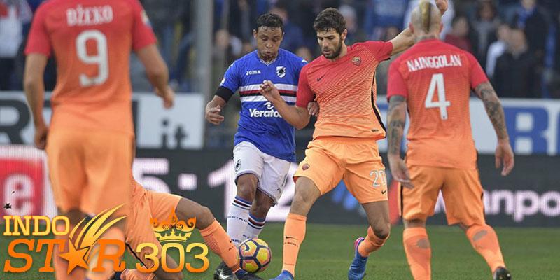 Bandar Bola Terpercaya - Hasil Pertandingan Sampdoria vs AS Roma