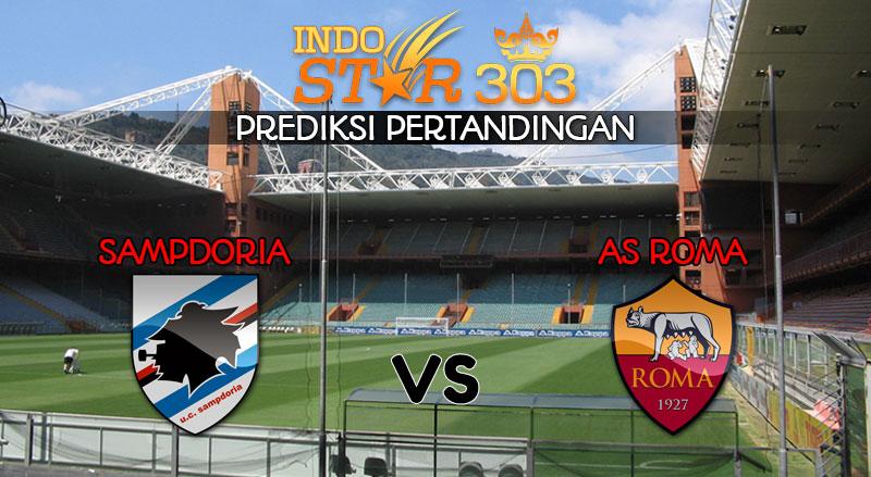 Bandar Bola Terpercaya - Prediksi Pertandingan Sampdoria vs AS Roma