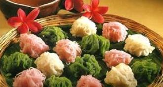 Resep Putu Mayang Isi Durian