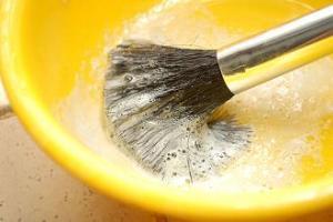 Membersihkan Make Up Brush