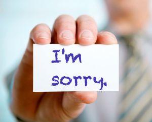 Ketika Meminta Maaf