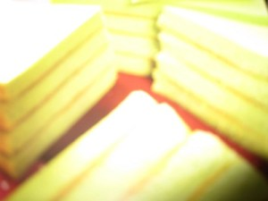 resep cake kukus lapis cocopandan