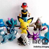 Jual Pokemon Figure isi 10