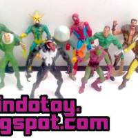 Jual Spiderman and Villain Mini Figure